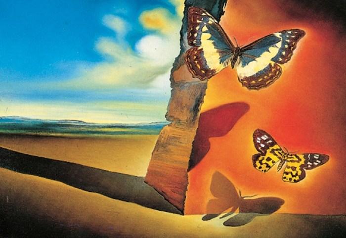 Paysage aux papillons (Landscape with Butterflies)