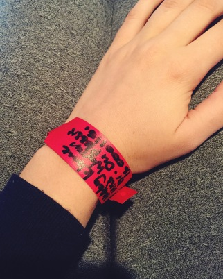 Clinic wristband